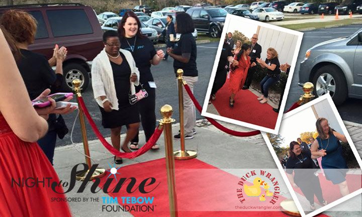 Night to Shine: The Blessed Prom blog title overlay